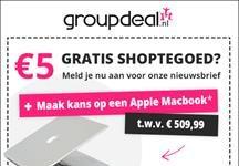 5 euro gratis groupdeal