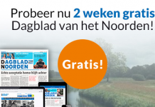 2 weken gratis dagblad van het noorden