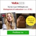 Gratis €50,- bon van thebagstore bij een 1-jarige VARAgids abonnement
