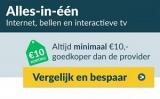 Minimaal €10 korting op alles-in-1