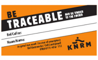 Gratis Be Traceable sticker!