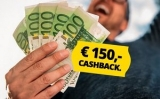 €120 of €150 cashback bij Energiedirect