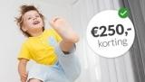 Essent: €250 cashback bij 1 jaar