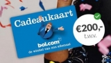 Gratis Bol.com cadeaukaart t.w.v. €200,00