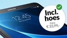 Gratis Samsung tablet met hoes