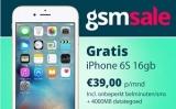 iPhone 6 + onbeperkt bellen + 4 GB voor slechts €29