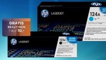 Tot €100 korting op HP cartridges + beautybon €10