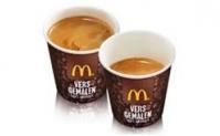 Mc Donald's: gratis kleine fris of warm drinken