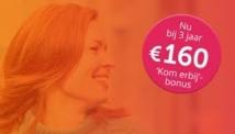 €110, €160 of €210 cashback bij NLE