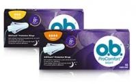 Probeer gratis O.B. tampons®