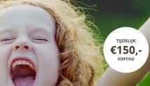 €150 welkomstbonus op groene energie