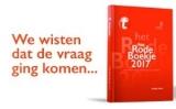 Gratis het rode boekje voor 2017