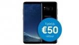 Ontvang €50 terug op de Samsung Galaxy S8