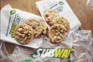 Gratis Subway koekje!