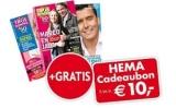 Gratis HEMA cadeaukaart t.w.v. €10 bij Troskompas